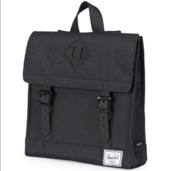 f4ece909d079 Herschel Supply Co. Survey Kids Black Backpack